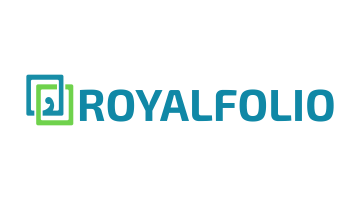 Logo for Royalfolio.com