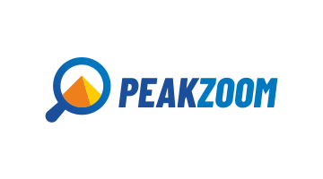 Logo for Peakzoom.com