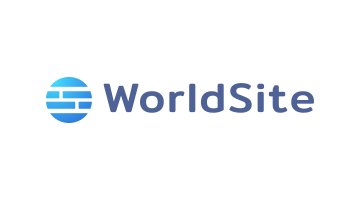 Logo for Worldsite.com