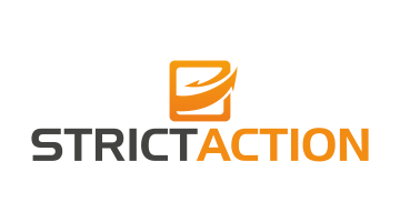 Logo for Strictaction.com