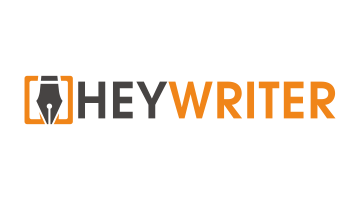 Logo for Heywriter.com