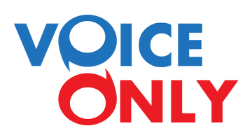 Logo for Voiceonly.com