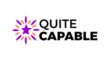 Logo for Quitecapable.com