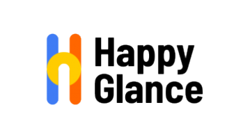 Logo for Happyglance.com