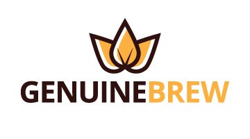 Logo for Genuinebrew.com