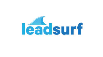 Logo for Leadsurf.com