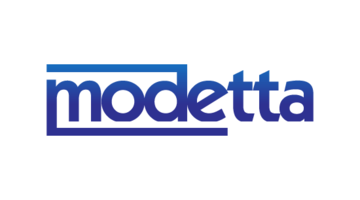 Logo for Modetta.com