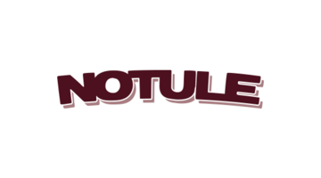 Logo for Notule.com