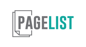 Logo for Pagelist.com