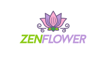 Logo for Zenflower.com