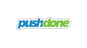 Logo for Pushdone.com