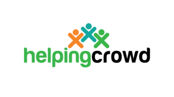 Logo for Helpingcrowd.com