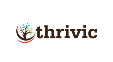 Logo for Thrivic.com