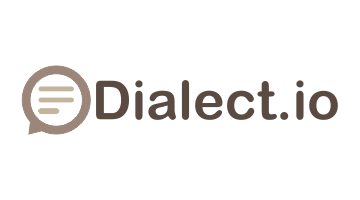 Logo for Dialect.io