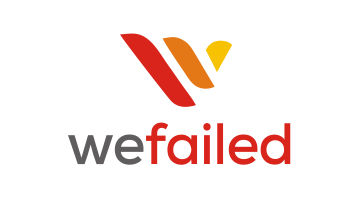 Logo for Wefailed.com