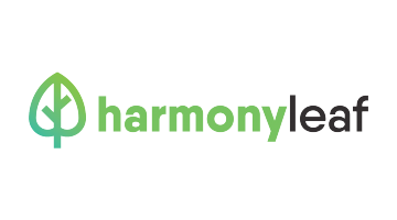 Logo for Harmonyleaf.com