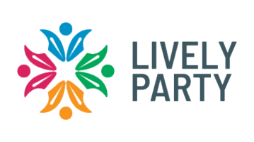 Logo for Livelyparty.com