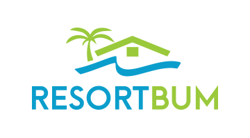 Logo for Resortbum.com