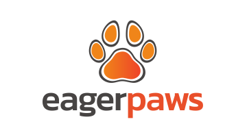 Logo for Eagerpaws.com