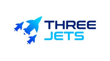 Logo for Threejets.com