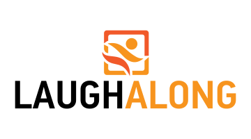 Logo for Laughalong.com
