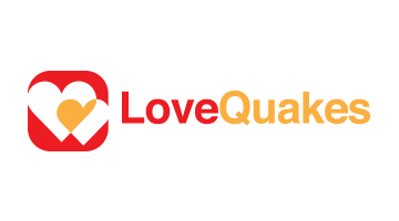 Logo for Lovequakes.com