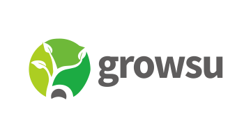 Logo for Growsu.com