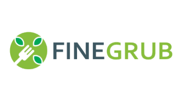 Logo for Finegrub.com