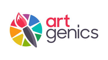 Logo for Artgenics.com