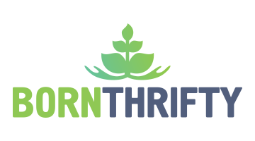 Logo for Bornthrifty.com