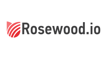 Logo for Rosewood.io