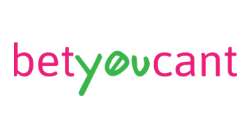 Logo for Betyoucant.com