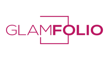 Logo for Glamfolio.com