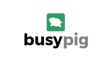 Logo for Busypig.com