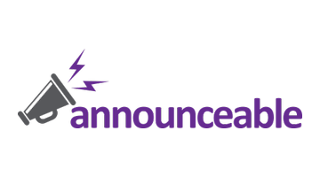 Logo for Announceable.com