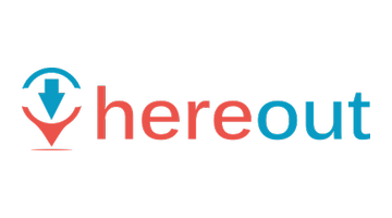 Logo for Hereout.com