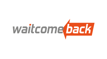 Logo for Waitcomeback.com