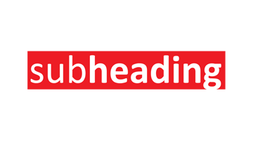 Logo for Subheading.com