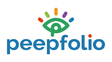 Logo for Peepfolio.com