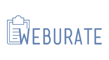Logo for Weburate.com