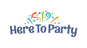 Logo for Heretoparty.com