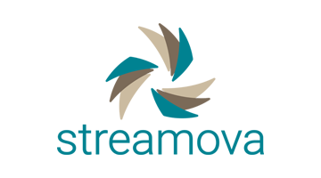 Logo for Streamova.com