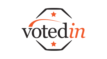 Logo for Votedin.com