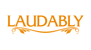 Logo for Laudably.com