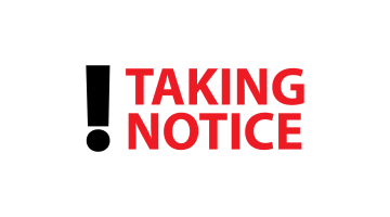 Logo for Takingnotice.com