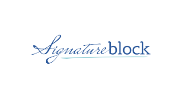 Logo for Signatureblock.com