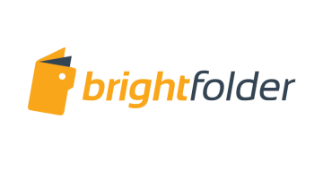 Logo for Brightfolder.com