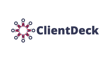 Logo for Clientdeck.com